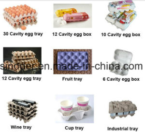 Waste Paper Recycle Egg Tray Machine/Automatic Paper Pulp Egg Tray Production Line pictures & photos