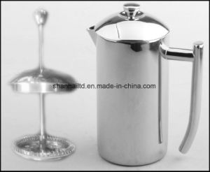 Stainless Steel Tea Maker/Coffee Plunger pictures & photos