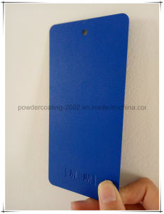 Blue Frosted Grain Thermsoet Powder Coating pictures & photos