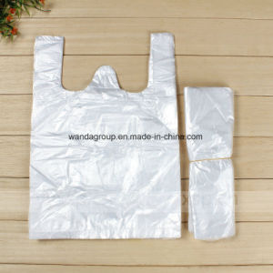 Plain Color Biodegradable Plastic T-Shirt Bag pictures & photos