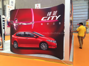 Tension Fabric Portable Exhibition Stand, Display Banner Trade Show (KM-BSS6) pictures & photos