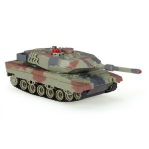 147500-H500 1/36 German Leopard Iia6 Infrared Shooting Bluetooth Gravity Induction RC Battle Tank pictures & photos