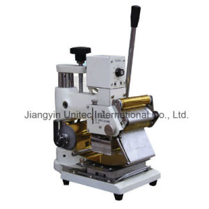 Wholesale Popular Designed Foil Machine Tj-90 Hot Stamping Machine pictures & photos