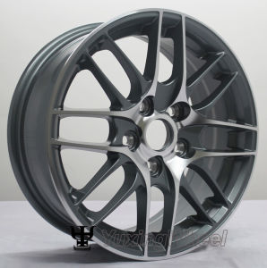 15 Inch Black Car Aluminium Alloy Rim or Alloy Rims for Volkswagen and Ford pictures & photos