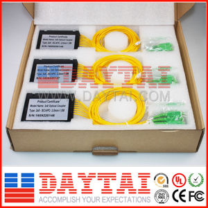Standard/Broadband 2.0mm Fiber Optical 2X8 Coupler pictures & photos