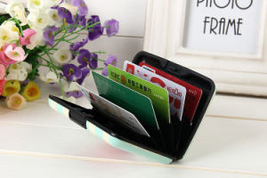 Aluminum Customized Promotional Gift Men Credit Card Holder pictures & photos