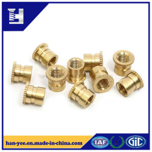 Wholesale Brass/Yellow Zinc Insert Nut with Knurl pictures & photos