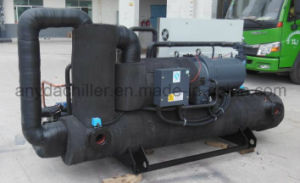 Water Cooled Low Temperature Screw Salt Water Chiller pictures & photos