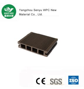 Factory Exterior Hollow WPC Flooring Decking pictures & photos