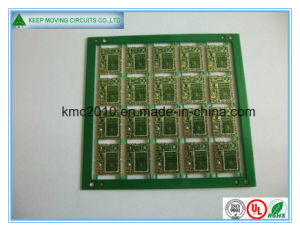 Multilayer Green Mask Immersion. Gold PCB pictures & photos