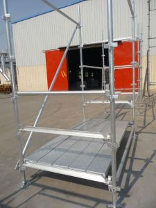 Kwistage Scaffolding Standard in Painted to Australia pictures & photos