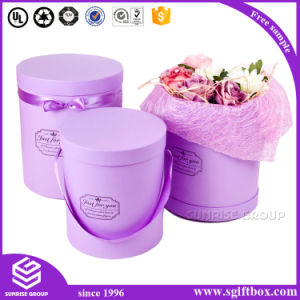 Round Flower Paper Packaging Gift Box pictures & photos