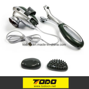 Todo Double Head Handheld Electric Massager Percussion Action for Deep Kneading pictures & photos