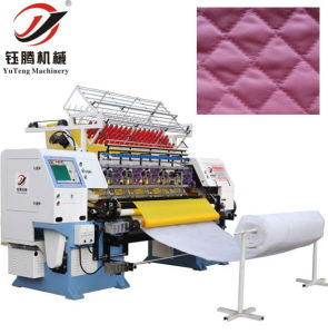 High Speed Computerized Lock Stitch Multi-Needle Quilting Machine YGB64-2-3 pictures & photos