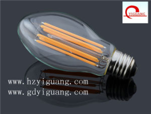 Popular Long Filament LED Light Bulb ED55 pictures & photos