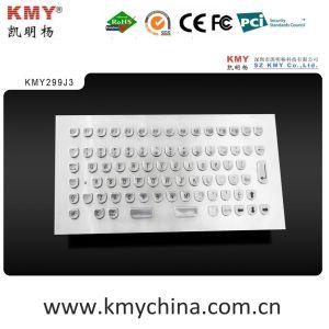 "Stainless Steel Metal Kiosk Keyboard with ""U"" Shape Keys (KMY299J-3) pictures & photos"