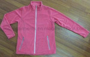 Ladies Outdoor Outer Polar Fleece Coat Jacket (PF17) pictures & photos