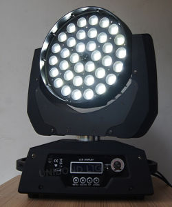 High Power Zoom Wash 36*18W LED Bulb Beam Moving Head Stage Lighting pictures & photos