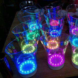 China Manufacturer Multi Color Change Plastic LED Wine Ice Bucket pictures & photos