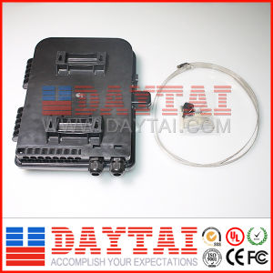 New Waterproof Black Color Fiber Optic FTTH Terminal Box pictures & photos