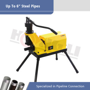 Hydraulic Roll Groover for Steel Pipes (YG6D) pictures & photos