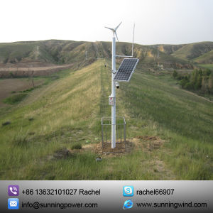 Wind Solar Hybrid Home Electric System, Home Solar System pictures & photos