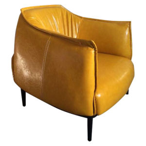 Nordic Style Cafe Reception Leather Chair pictures & photos