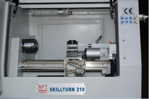 Hot Sale China High Precision Mini Hobby CNC210 CNC Lathe pictures & photos