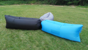 Outdoor Laybag Lazy Inflatable Lounger Sofa Bed / Sleeping Bag / Inflatable Air Sleeping Bags (C327) pictures & photos