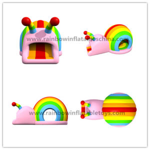 Design Snail Bounce Castle/Inflatable Dome Bouncer Commercial Jumping Funland pictures & photos