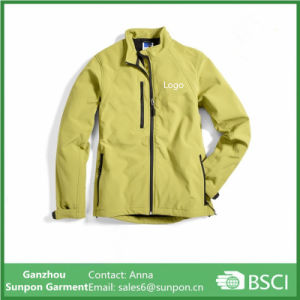 Softshell Jacket with TPU Bonded with Coral Fleece pictures & photos