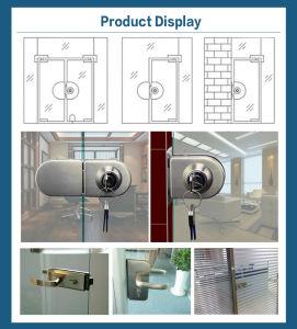 Hot Sale Glass Door Lock with Handle pictures & photos