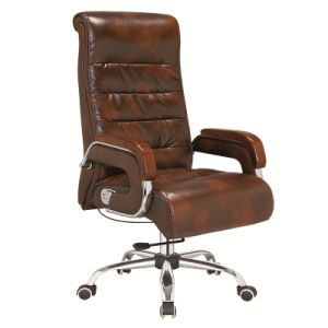 Hot Selling Classic Leather Swivel Boss Chair pictures & photos