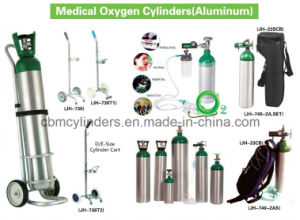 Medical Nitrous Oxide Cylinders G 25L W/ Pin Index Valves Cga910 & Caps pictures & photos