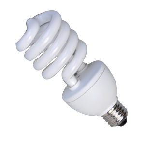 3000h 6000h 8000h Half Spiral Energy Saving Lamp pictures & photos