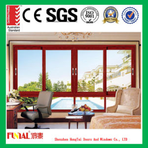 Clear Tempered Insulated Glass Sliding Aluminum Window pictures & photos