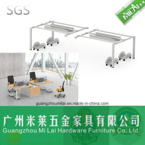 High Quality Wooden and Steel Frame for Office Furniture Workstation Table pictures & photos