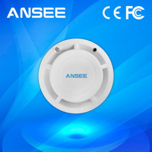 Wireless Smoke Detector for Fire Alarm System, Ce/FCC Approved pictures & photos