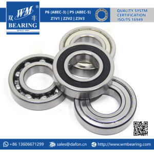 6207 2RS Low Friction Sealed Deep Groove Ball Bearing pictures & photos