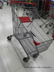 China New Design High Quality Wal-Mart Shopping Trolley Cart pictures & photos
