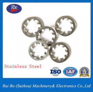 Stainless Steel DIN6797j Internal Teeth Spring Lock Washer pictures & photos