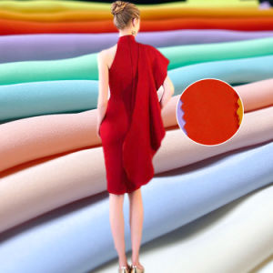 Satin 100%Polyester Fabric for Dress Suit