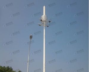 Good Quality Steel Tube Green Belt Station Tower pictures & photos