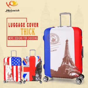 Golder Supplier Manufacturer Custom Elastic Cover for Luggage pictures & photos