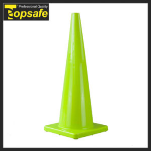 36 Inch Road Safety Fluorescent Orange PVC Traffic Cone (S-1233) pictures & photos