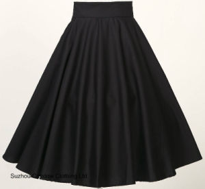 Free Dropshipping High Waist Ball Gown Flared Sun Swing Skirts pictures & photos