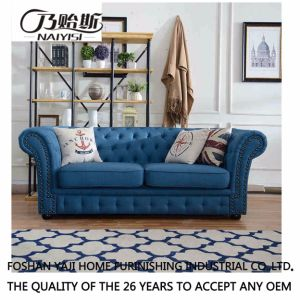 American Country Style Leisure Fabric Sofa for Home Furniture M3006 pictures & photos