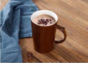 Custom Design Ceramic Corlor Glazed Stoneware Mug with Handle pictures & photos
