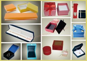 Fashion Jewellery Boxes with Hinges for Display pictures & photos