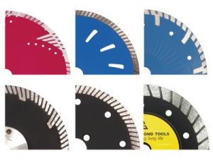 Triangle Shape Segment Granite Cutting Diamond Saw Blade pictures & photos